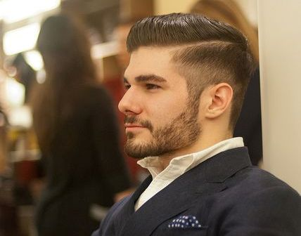 Fabulous Best Undercut Hair Style For Men To Be Applied With Glasses Short Hairstyles Gunalazisus