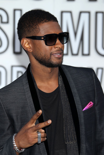 Short Black Men Hairstyle From Usher Latest Hair Styles