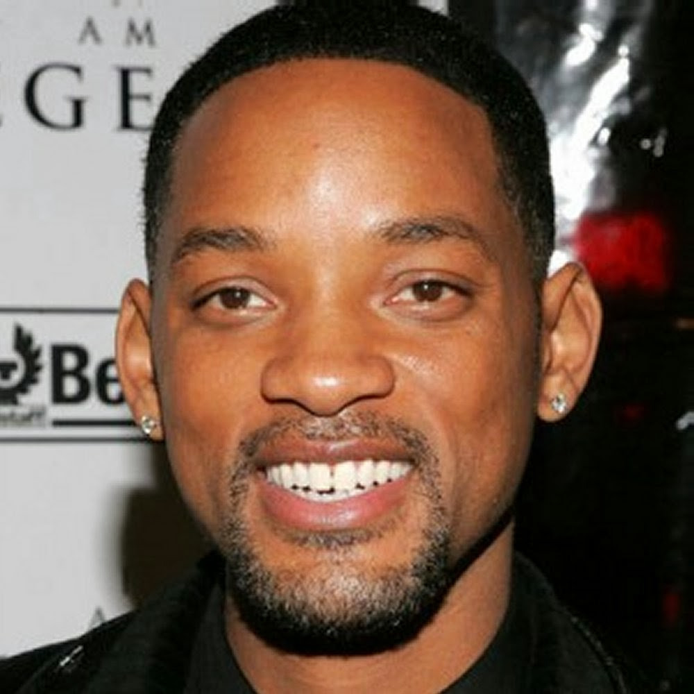 Short Curly Hair Style - Will Smith