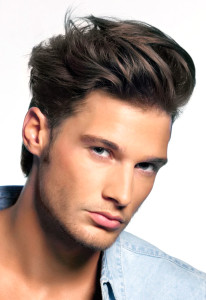 how to style hair for men