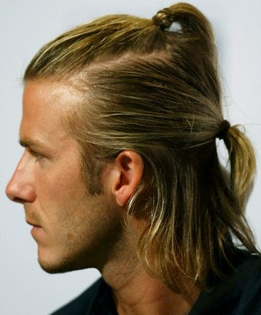 how to style long hair for men