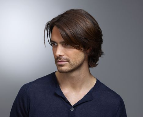 how to style medium hair men