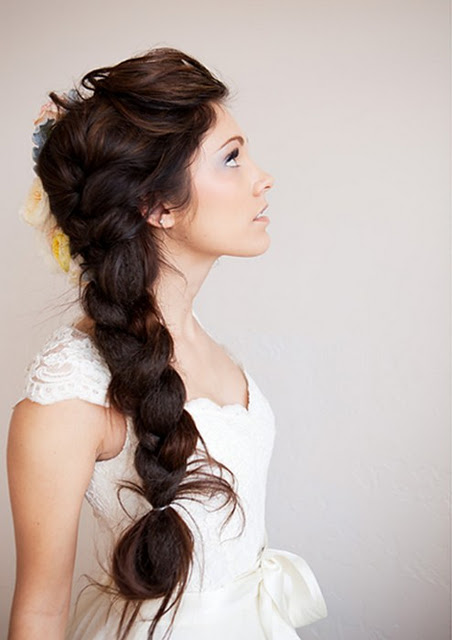 latest hair style pic braids wedding hairstyle for hair 01 hair 5094 | Braids Wedding Hairstyle for Long Hair 01