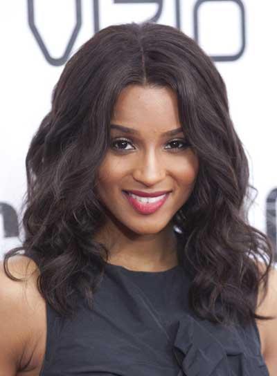 Ciara Hairstyles Beautiful Wavy Hair Latest Hair