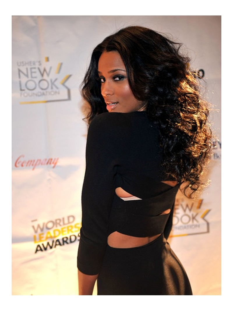 Ciara Hairstyles Glamourous Curly Hair