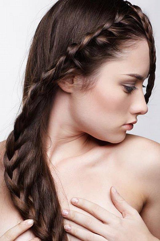Cute Braided Hairstyles For Straight Hair