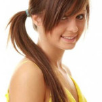 Ponytail Hairstyle for round face - Latest Hair Styles - Cute & Modern Hairstyles For Men ...
