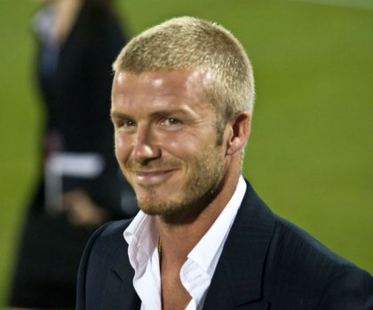 David Beckham Buzz Cut Hairstyles