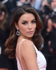 Eva Longoria Long Wavy Hairstyle & Fashion