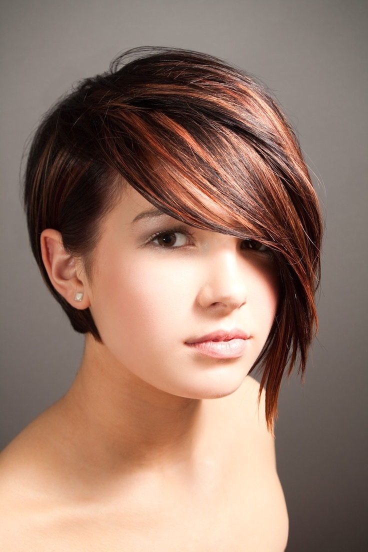 Hair Cut Style Funky Asymmetrical Haircut_02  Latest Hair Styles  Cute & Modern .