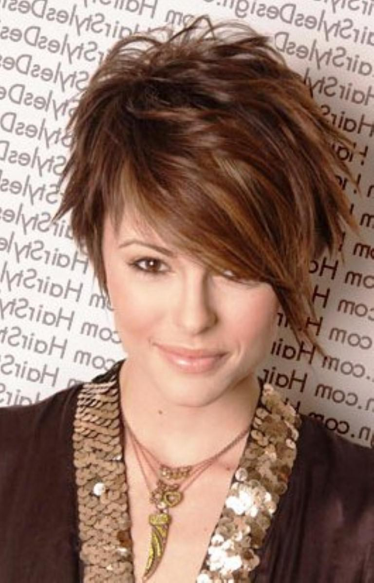 Short Funky Hair Cut Styles To Try On Latest Hair Styles Cute