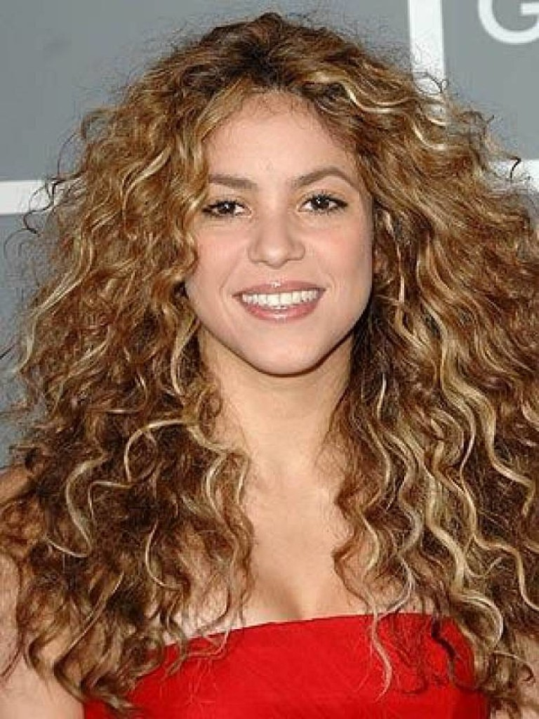 Curly Hair Long Style popular hairstyle