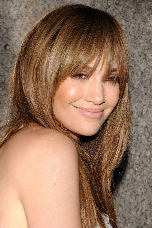Jennifer Lopez Blonde And Sexy Long Straight Hair