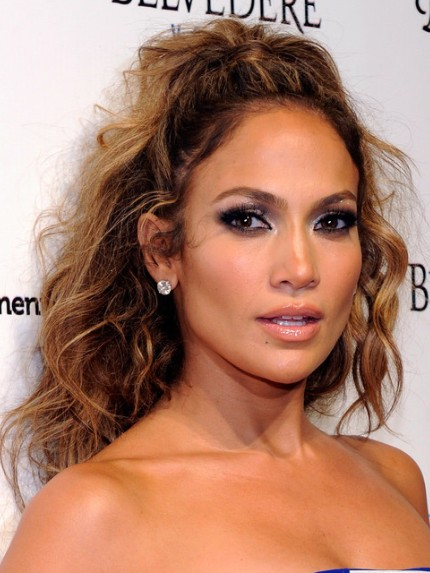 Jennifer Lopez Long Curly With Ponytail Latest Hair