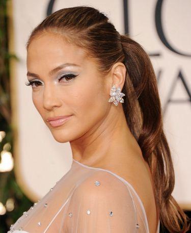 Jennifer Lopez Long Hairstyles With Ponytails Latest