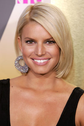 Back To Post Jessica Simpson Hairstyles Perfect Bob Hair Cut For Blonde