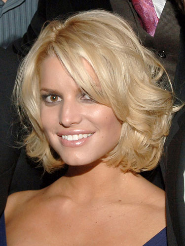 Jessica Simpson Short Wavy Bob Hairstyles 04 Latest Hair