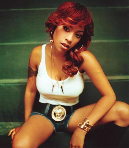 Keyshia Cole Hairstyles Red Amp Curly Latest Hair Styles