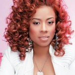 Keyshia Cole Hairstyles Red Amp Curly Punk Latest Hair
