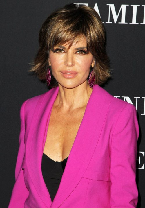 Lisa Rinna Medium Straight Hairstyle
