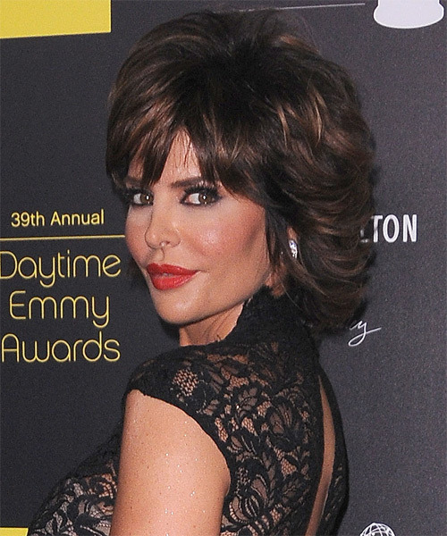 Lisa Rinna Short Medium Hairstyles