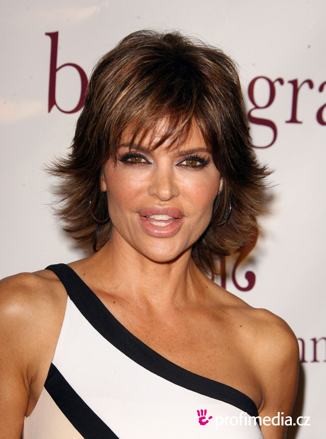 Lisa Rinna Short Straight Hairstyle-02