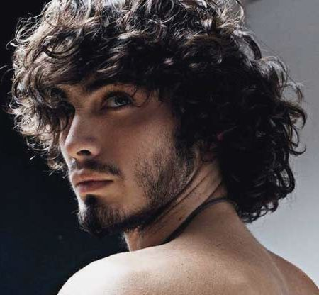 Long Hairstyles For Men Heavy Curly Latest Hair Styles