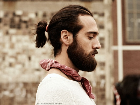Perfect Long Hairstyles For Men Short Ponytail