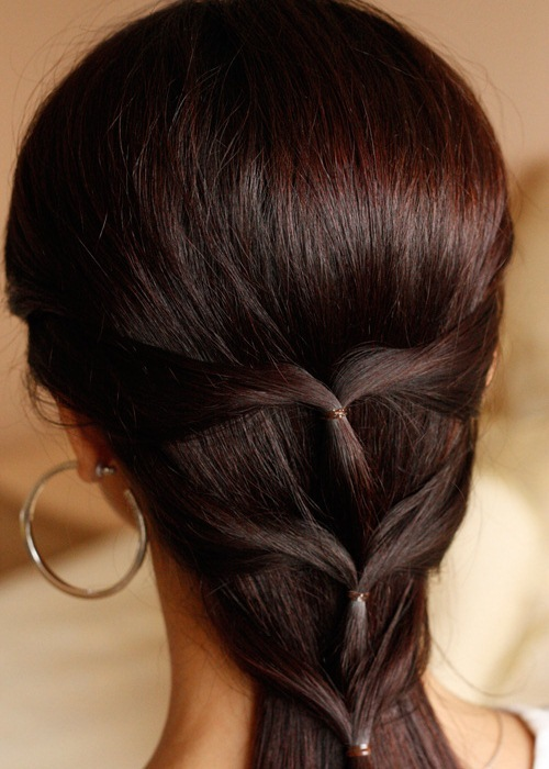 Long Thin Hairstyles with cool Braids
