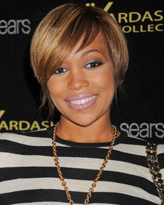 Monica Hairstyles - Short Cute