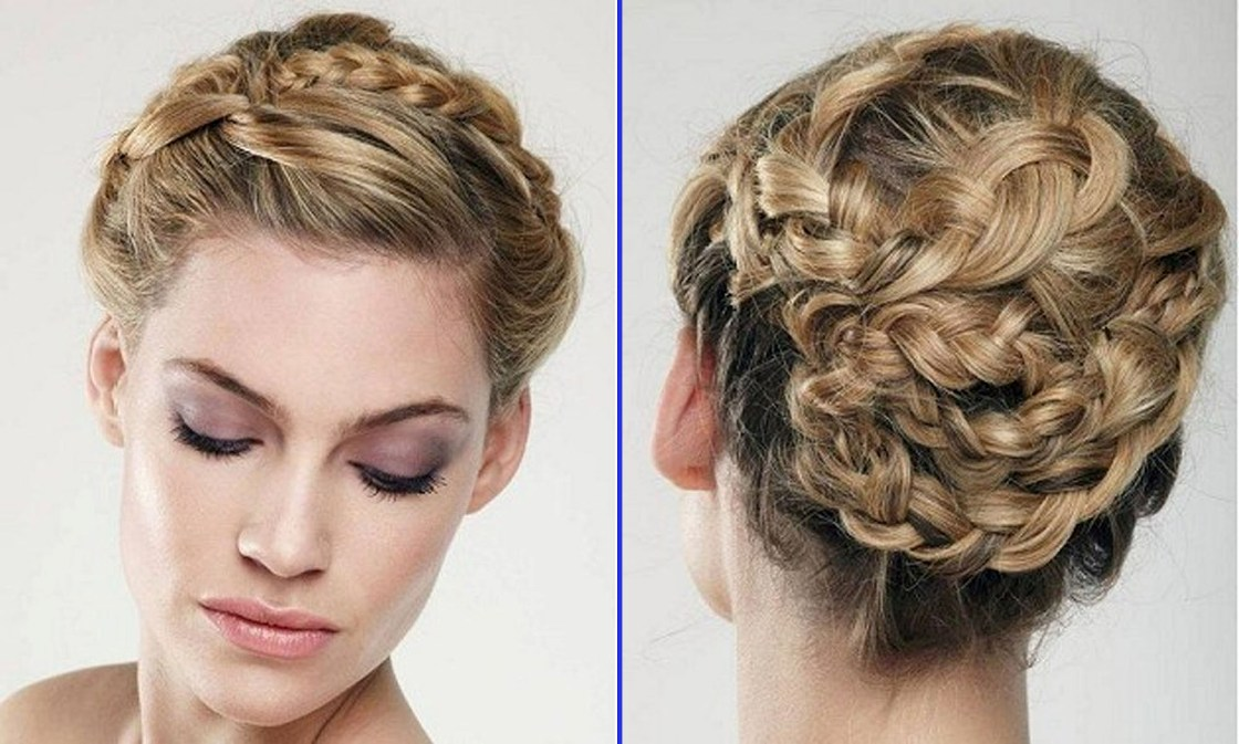Short Braided Curly Hairstyles 02