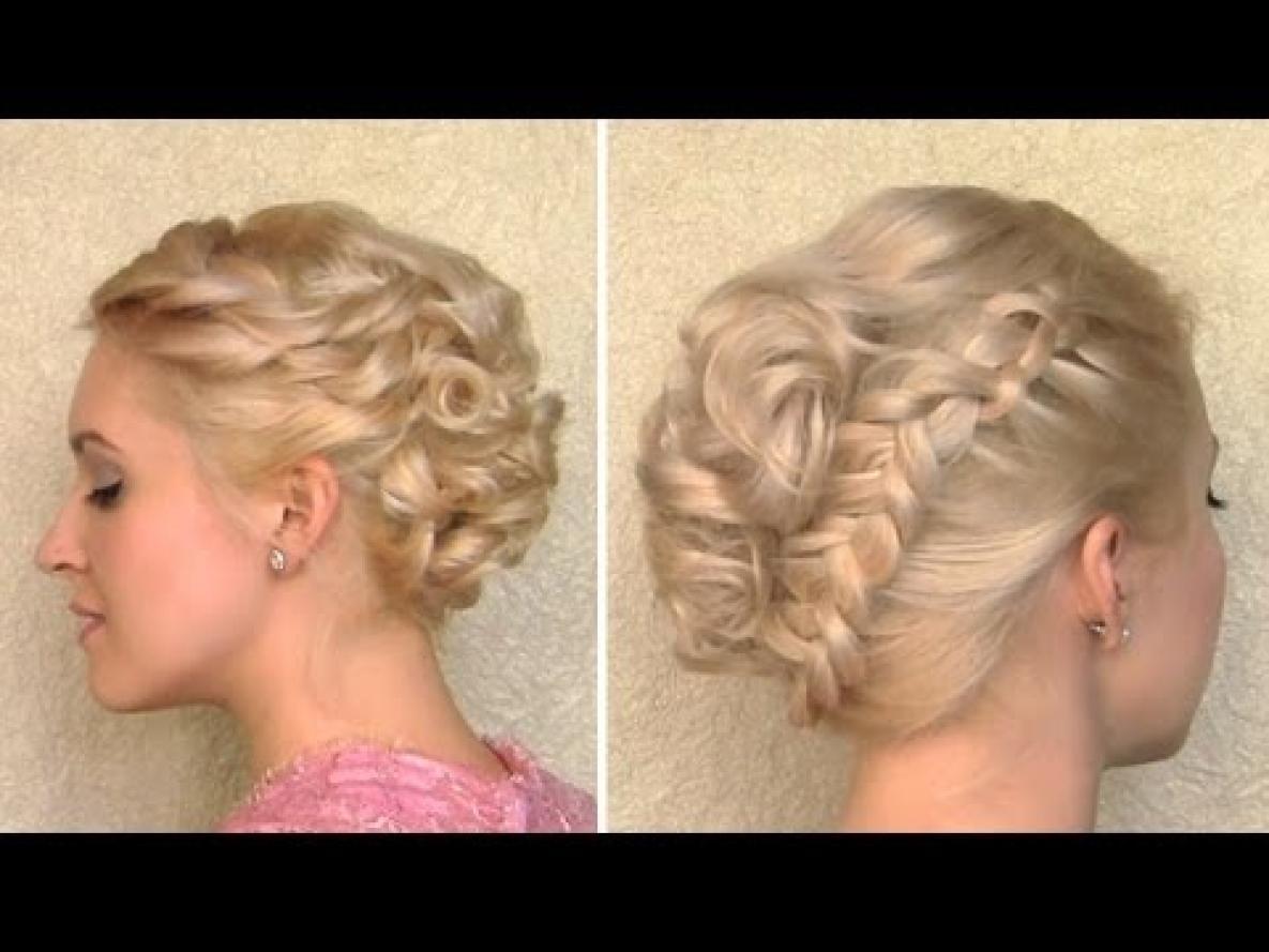 Причёски на короткую длину волос своими руками