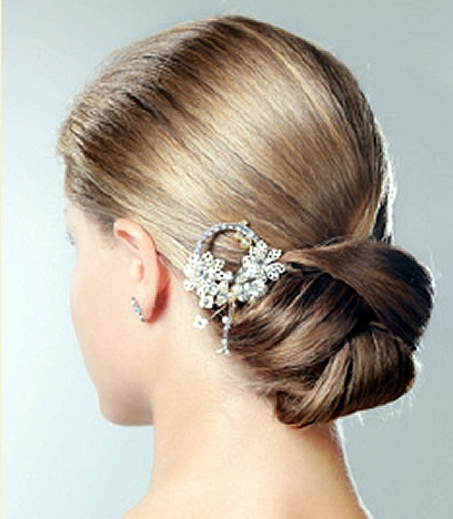 elegant back bun hairdos for long hair   latest hair