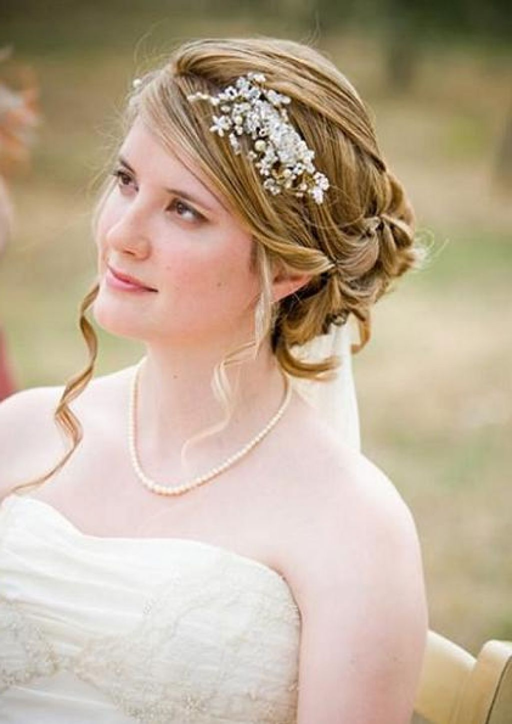 sweet updo hairstyles for beach wedding_03 - latest hair styles