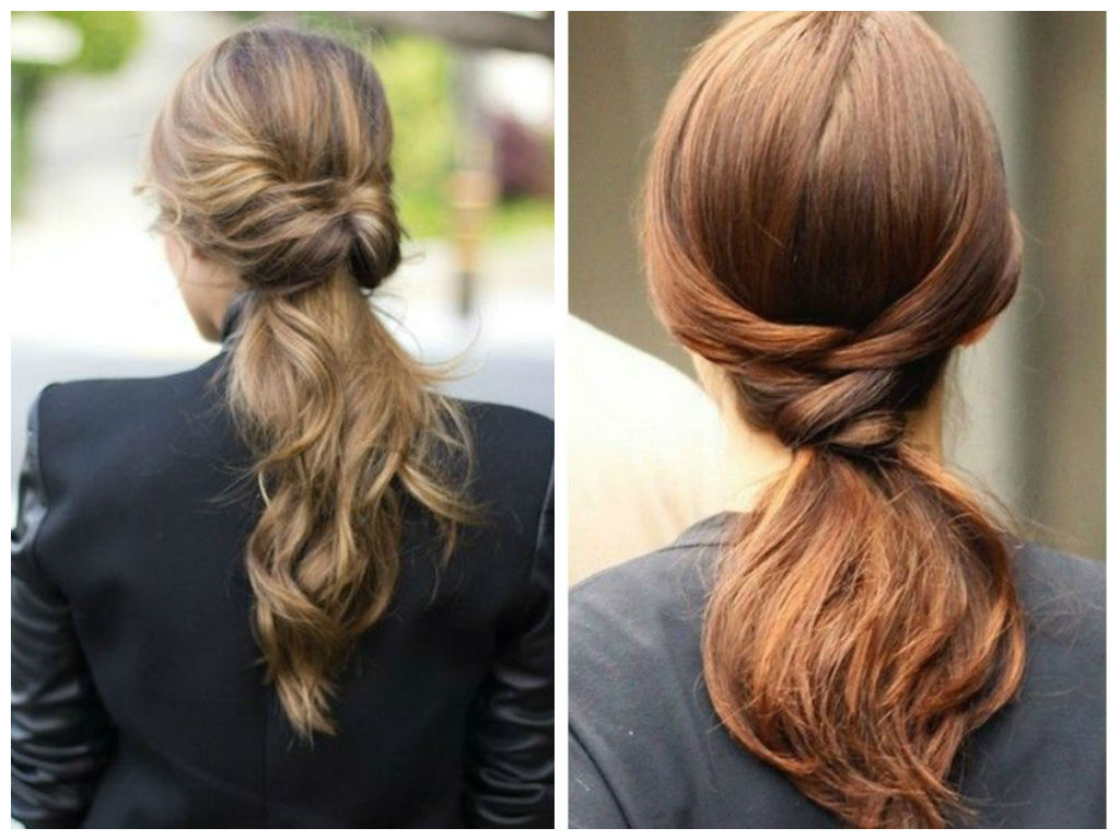 Twisted Ponytail Hair Style 05 Latest Hair Styles Cute Modern Hairstyles For Men Women