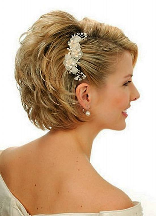 Updos Short Hair Style For Girls