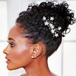 Bun Hairstyles for Black Women Wedding_05
