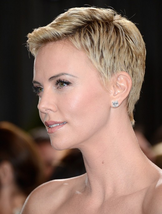 female celebrities short hair styles