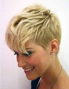 short pixie cut for women