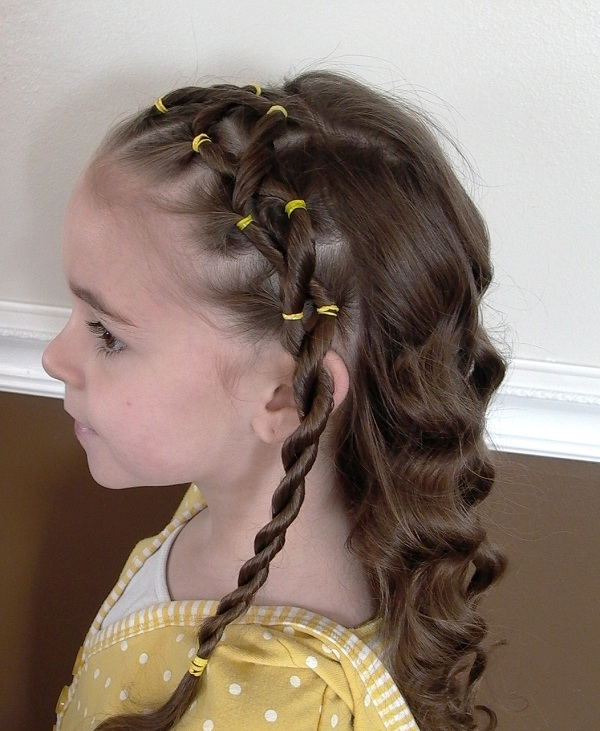 updos little hairstyle