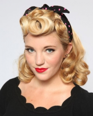 1940s rockabilly hairstyle