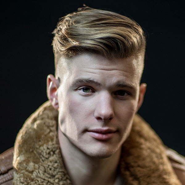 new hairstyles for guys : Disconnected undercut