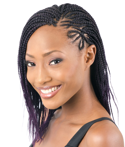 African mini braids hairstyles