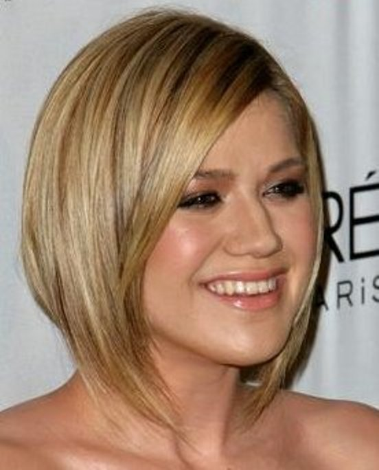 Hairstyle For Overweight Women With Round Faces