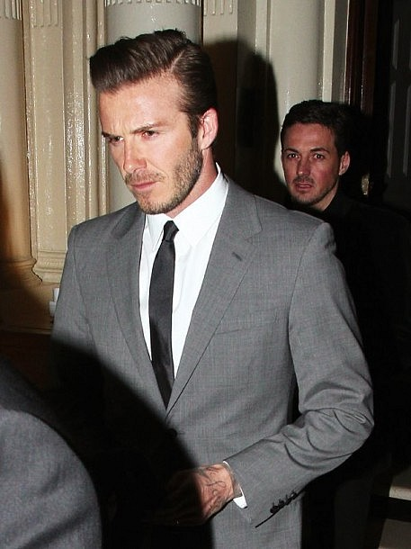 Classy Hairstyles for Men Beckham Side Part