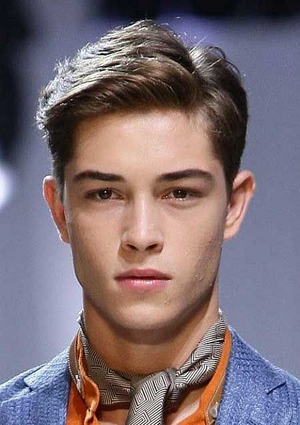 Classy Hairstyles for Men Classic Side Part