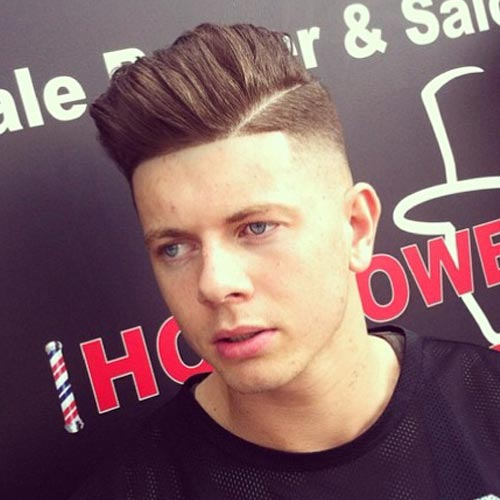 Classy Hairstyles for Men Cool Side Part