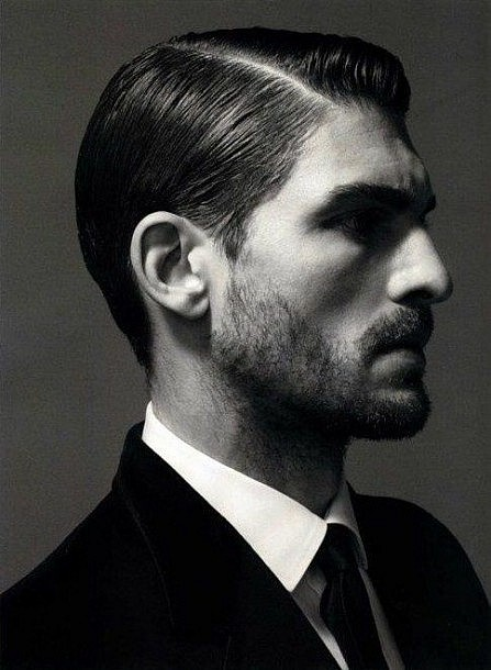 Classy Hairstyles for Men Sexy Side Part