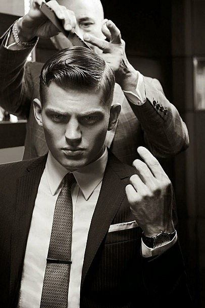 Classy Hairstyles for Men Side Part for Businessman
