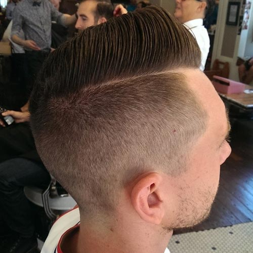 Classy Hairstyles for Men , a Side Part